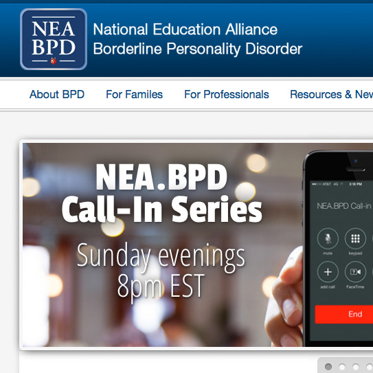 National Education Alliance for Borderline Personality Disorder